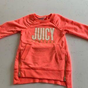 Juicy couture girls sweatshirt